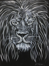 Load image into Gallery viewer, Deep Wisdom II, Lion Original Painting