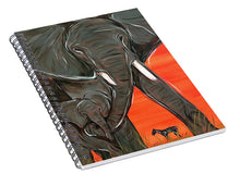 Load image into Gallery viewer, Elephant Matriarch - Spiral Notebook