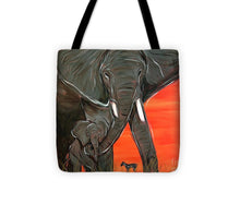Load image into Gallery viewer, Elephant Matriarch - Tote Bag