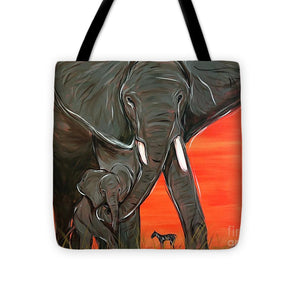 Elephant Matriarch - Tote Bag