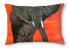 Load image into Gallery viewer, Elephant Matriarch - Throw Pillow