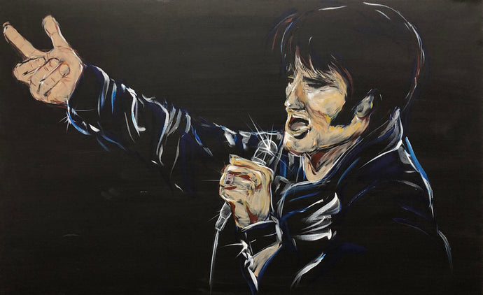 ELVIS 68, Original Painting
