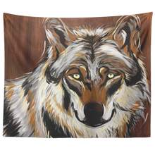 Load image into Gallery viewer, Wolf Tapestry