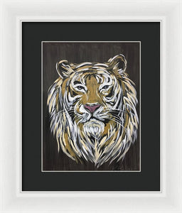 Eye Of The Tiger - Framed Print