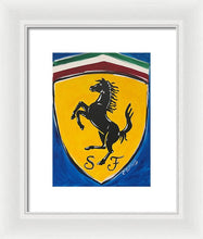 Load image into Gallery viewer, Ferrari - Framed Print