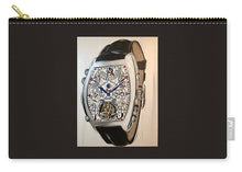 Load image into Gallery viewer, Fm Watch With Leather Band - Carry-All Pouch