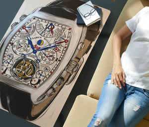 Franck Muller watch coffee table