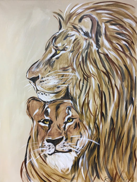 The Protector Original Painting