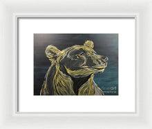 Load image into Gallery viewer, Golden Bear - Framed Print