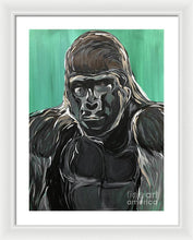 Load image into Gallery viewer, Gorilla Leader - Framed Print