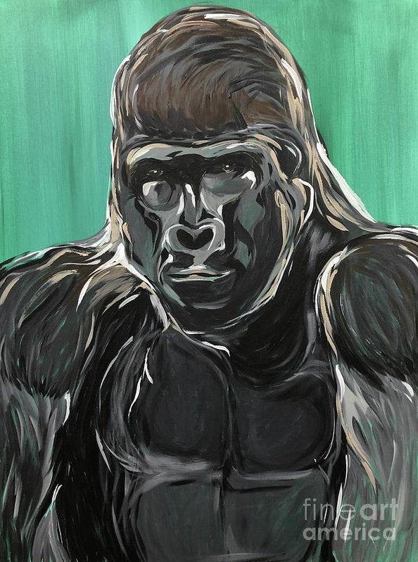 Gorilla Leader - Art Print