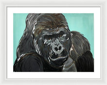 Load image into Gallery viewer, Gorilla - Framed Print