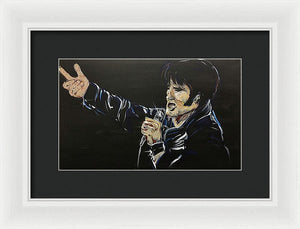 King - Framed Print