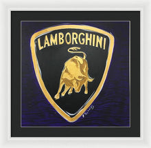 Load image into Gallery viewer, Lamborghini - Framed Print
