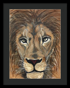 Leo The Lion - Framed Print