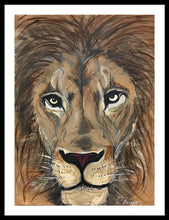Load image into Gallery viewer, Leo The Lion - Framed Print