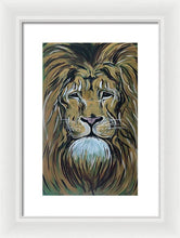 Load image into Gallery viewer, Lion In The Sun - Framed Print
