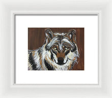 Load image into Gallery viewer, Lone Wolf - Framed Print