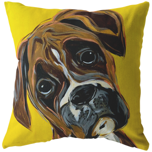 Boxer breed stuffed Pillow