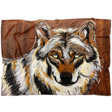 Load image into Gallery viewer, Wolf Blanket