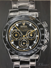 Load image into Gallery viewer, Rolex Daytona Stainless Original Painting
