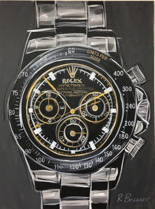 Rolex Daytona Stainless Original Painting