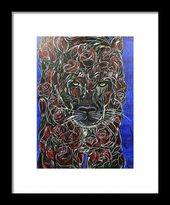 Rose Panther - Framed Print