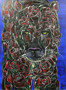Rose Panther - Art Print