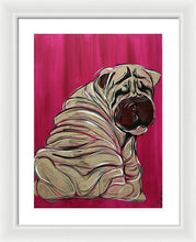 Load image into Gallery viewer, Shar Pei - Framed Print