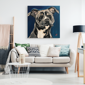 Rotty Square Canvas Wrap