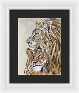 The Protector - Framed Print