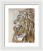 Load image into Gallery viewer, The Protector - Framed Print