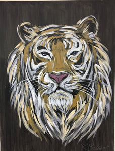 Eye of the Tiger Original Painting