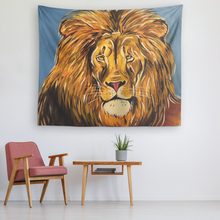 Load image into Gallery viewer, Relaxed Lion Tapestry