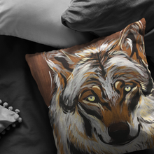 Load image into Gallery viewer, Wolf Pillow