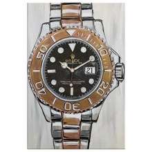 Load image into Gallery viewer, Gold Rolex Canvas Prints
