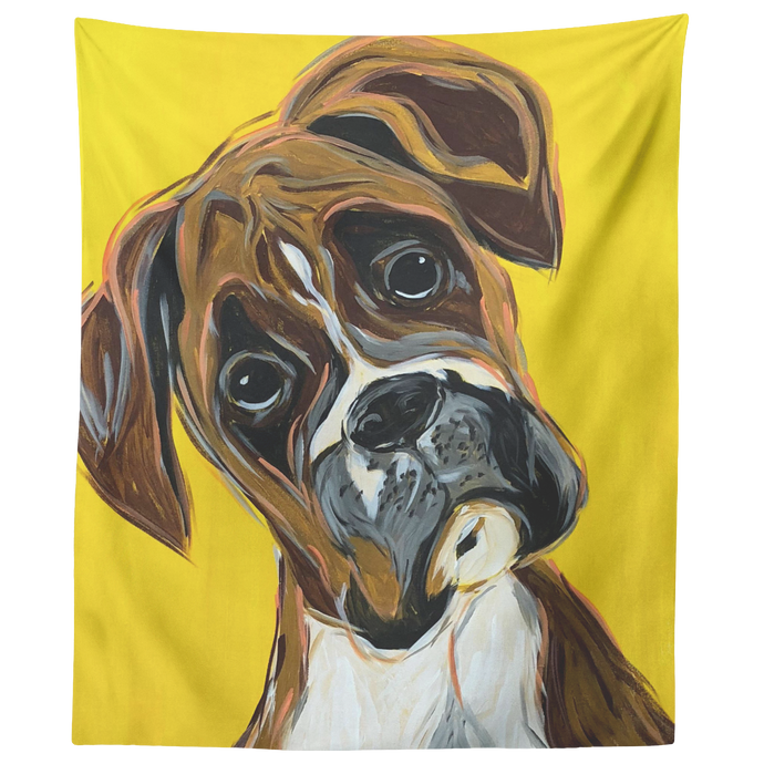 Boxer tapestry