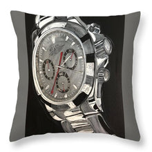 Load image into Gallery viewer, White Gold Datona - Throw Pillow