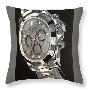 White Gold Datona - Throw Pillow