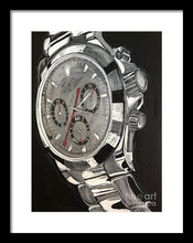 Load image into Gallery viewer, Rolex White Gold Daytona - Framed Print
