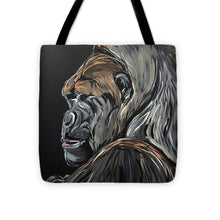 Load image into Gallery viewer, Wise Gorilla - Tote Bag