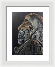 Load image into Gallery viewer, Wise Gorilla - Framed Print