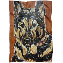 Load image into Gallery viewer, German Shepherd Blanket
