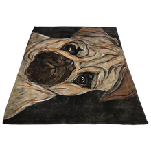 Load image into Gallery viewer, Pug Blanket
