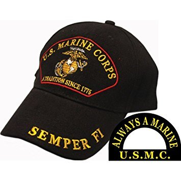 Marines Hat: A Tradition Since 1775 (Black)