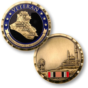 Collector's Coin: Operation Iraqi Freedom Veteran