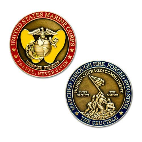 Marines Coin: The Crucible