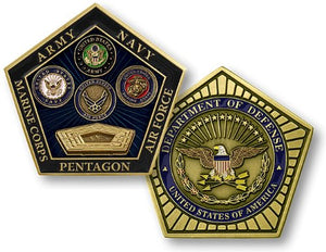 Collector's Coin: Pentagon, Department Of Defense