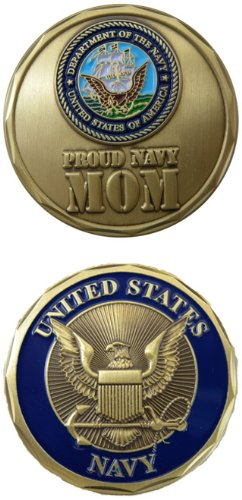 Navy Coin: Proud Mom