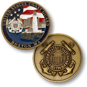 Coast Guard Coin: Boston, MA Station